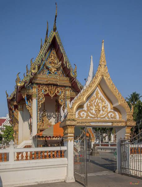 Photograph - Wat Chaimongkron Phra Ubosot Dthcb0080 by Gerry Gantt