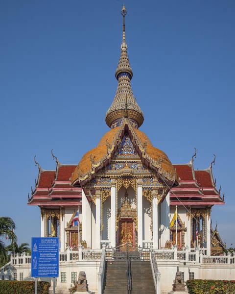 Photograph - Wat Chaimongkron Phra Wihan Dthcb0088 by Gerry Gantt