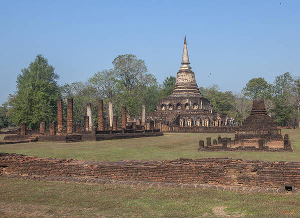 Photograph - Wat Chang Lom Dthst0114 by Gerry Gantt