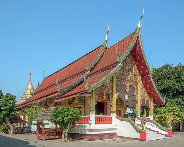 Photograph - Wat Chang Rong Wihan Luang Dthlu0091 by Gerry Gantt