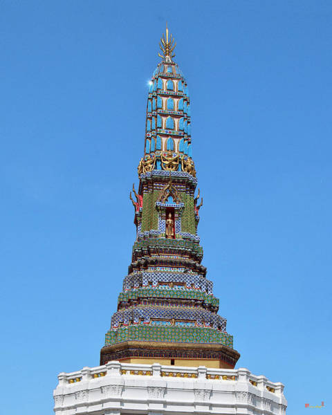 Photograph - Wat Intharam Phra Prang West Dthb0907 by Gerry Gantt