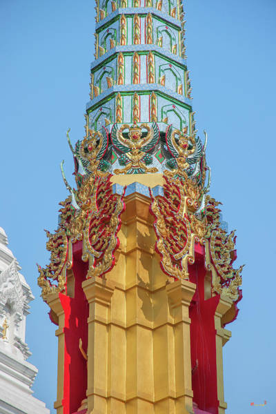Photograph - Wat Khunchan Merit Shrines Middle Of One Of Three Prangs Or Ched by Gerry Gantt