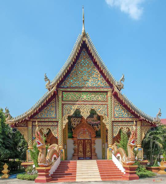 Photograph - Wat Mae San Ban Luk Phra Ubosot Dthlu0190 by Gerry Gantt