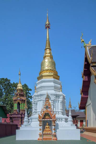 Photograph - Wat Mae San Pa Daet Phra That Chedi Dthlu0218 by Gerry Gantt