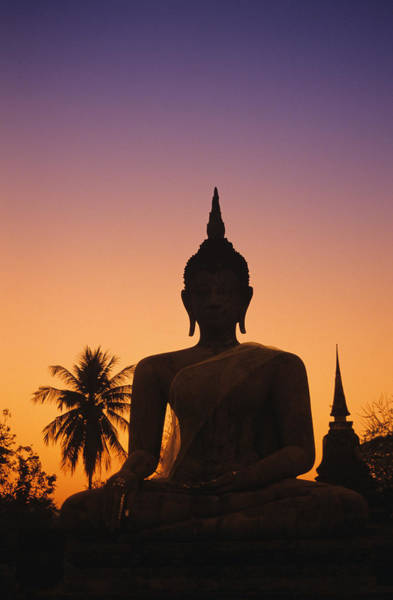 Wall Art - Photograph - Wat Mahathat by Gloria and Richard Maschmeyer - Printscapes