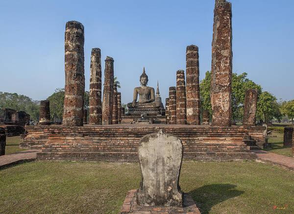 Photograph - Wat Mahathat Phra Ubosot Dthst0046 by Gerry Gantt