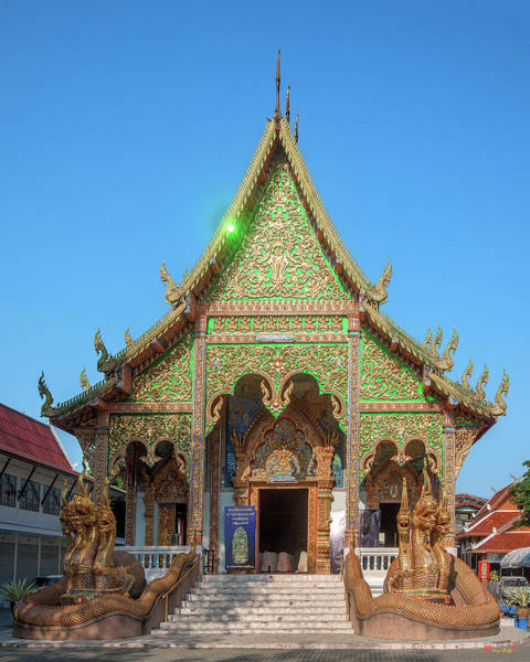 Photograph - Wat Mahawan Wihan Luang Dthlu0266 by Gerry Gantt