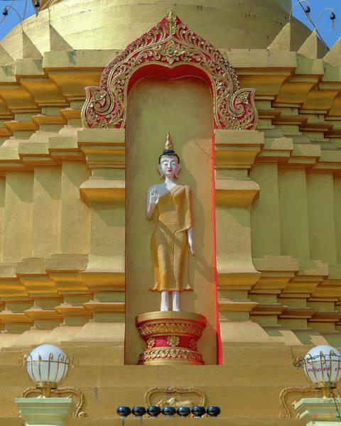Photograph - Wat Nam Lom Phra Chedi Buddha Image Dthla0094 by Gerry Gantt