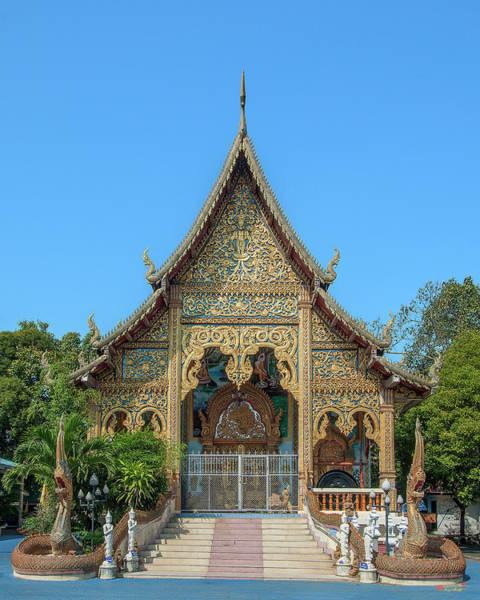 Photograph - Wat Nong Seng Phra Wihan Dthlu0326 by Gerry Gantt