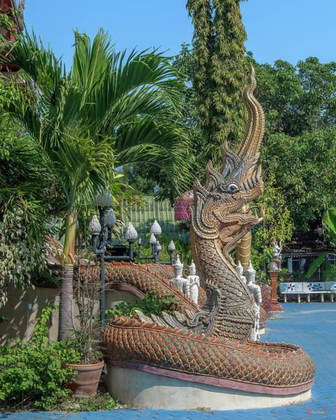 Photograph - Wat Nong Seng Phra Wihan Naga Dthlu0330 by Gerry Gantt
