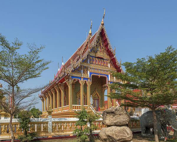 Photograph - Wat Nong Yai Phra Ubosot Dthcb0207 by Gerry Gantt