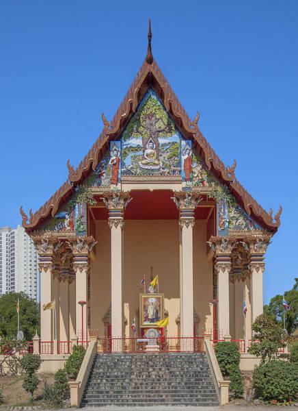 Photograph - Wat Pho Samphan Phra Ubosot Dthcb0064 by Gerry Gantt