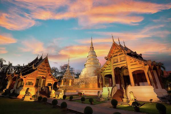 Northern India Photograph - Wat Phra Singh by Anek Suwannaphoom