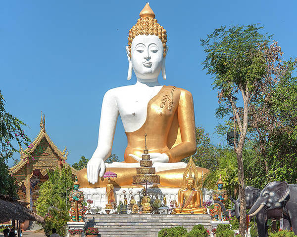 Photograph - Wat Phra That Doi Kham Phra Buddha Napeesipinkarat Dthcm2371 by Gerry Gantt