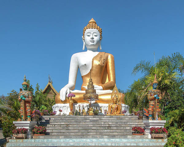 Photograph - Wat Phra That Doi Kham Phra Buddha Napeesipinkarat Dthcm2372 by Gerry Gantt