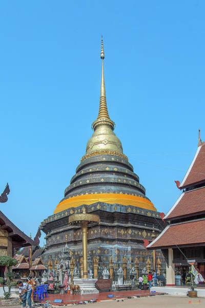 Photograph - Wat Phra That Lampang Luang Phra That Chedi Dthla0045 by Gerry Gantt