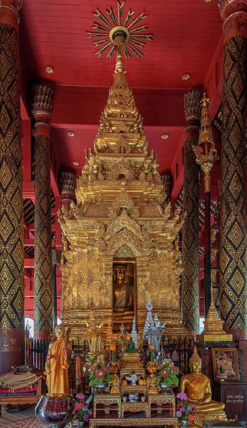 Photograph - Wat Phra That Lampang Luang Phra Wihan Luang Phra Chao Lang Thong Dthla0040 by Gerry Gantt