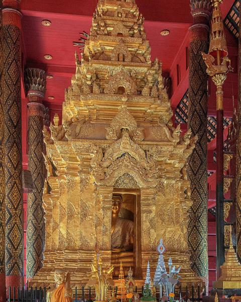Photograph - Wat Phra That Lampang Luang Phra Wihan Luang Phra Chao Lang Thong Dthla0041 by Gerry Gantt