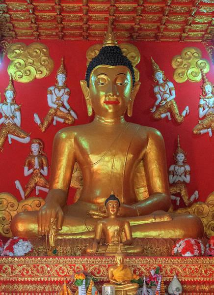 Photograph - Wat Phra That Lampang Luang Phra Wihan Principal Buddha Image Dthla0062 by Gerry Gantt