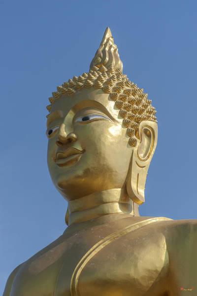 Photograph - Wat Phra Yai Sukothai Walai-cholatharn Buddha Dthcb0008 by Gerry Gantt