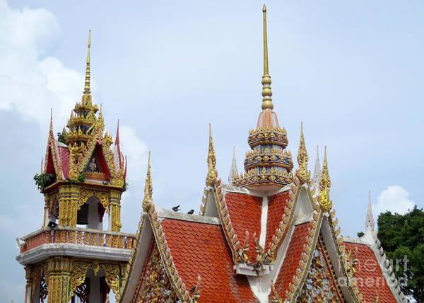 Koh Samui Photograph - Wat Plai Laem 10 by Randall Weidner