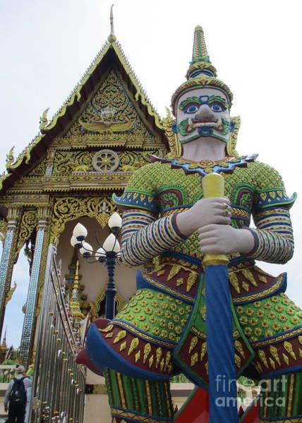 Koh Samui Photograph - Wat Plai Laem 13 by Randall Weidner