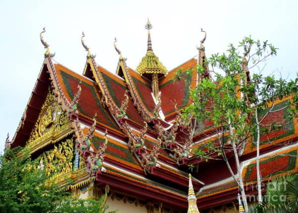 Koh Samui Photograph - Wat Plai Laem 16 by Randall Weidner