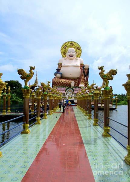 Koh Samui Photograph - Wat Plai Laem 17 by Randall Weidner