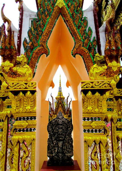 Koh Samui Photograph - Wat Plai Laem 18 by Randall Weidner