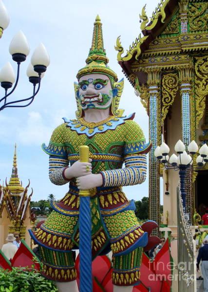 Koh Samui Photograph - Wat Plai Laem 8 by Randall Weidner