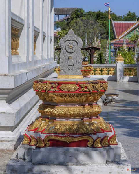 Photograph - Wat Prachum Khongkha Phra Ubosot Boundary Stone Dthcb0169 by Gerry Gantt