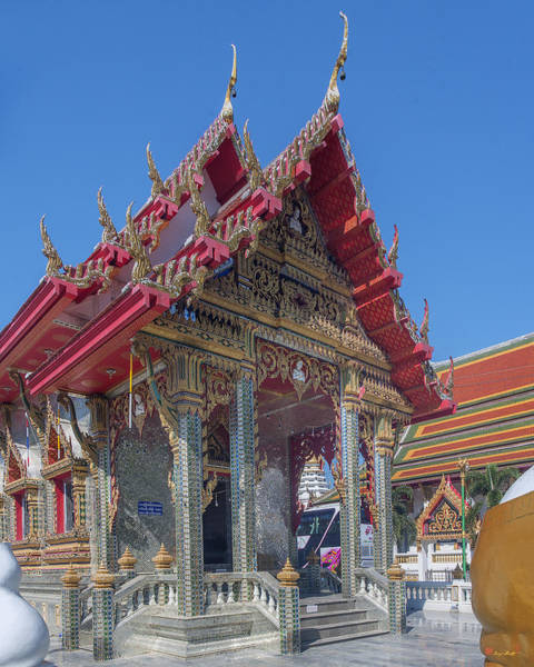 Photograph - Wat Prachum Khongkha Phra Wihan Dthcb0174 by Gerry Gantt