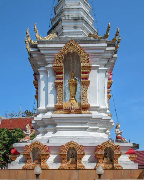 Photograph - Wat Rong Sao Phra That Chedi Buddha Niche Dthlu0174 by Gerry Gantt
