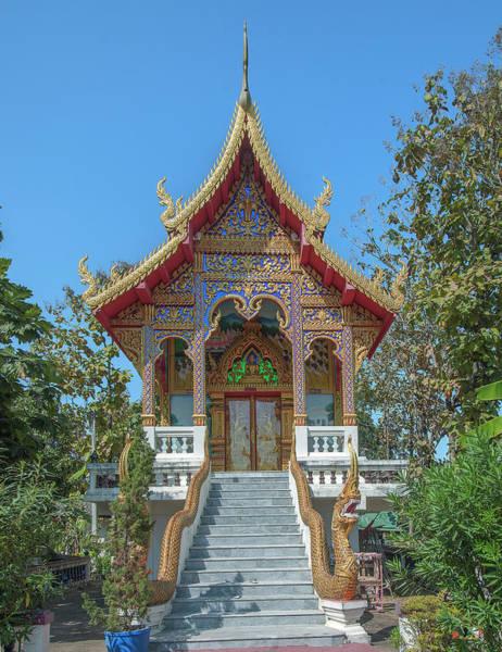 Photograph - Wat Rong Sao Phra Ubosot Dthlu0164 by Gerry Gantt