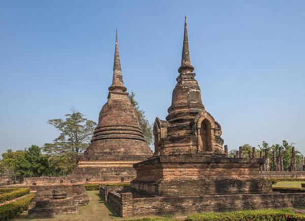 Photograph - Wat Sa Si Chedi Dthst0090 by Gerry Gantt