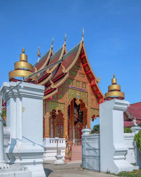 Photograph - Wat Si Chum Phra Ubosot Dthlu0116 by Gerry Gantt