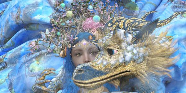 Serpent Digital Art - Watch by Betsy Knapp
