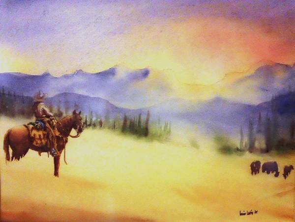 Lone Star Painting - Watch by Luis  Leon