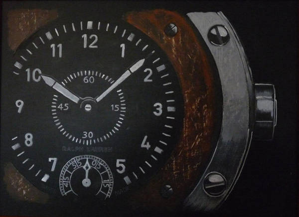 Painting - Watch by Richard Le Page
