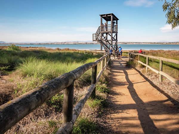 Wall Art - Photograph - Watch Tower At Lagunas De La Mata by Mike Walker