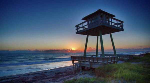 Watch Tower Sunrise 2 Art Print
