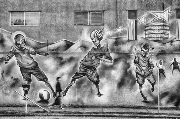 Pedestrian Wall Art - Photograph - Watch Where You're Walking by Theresa Tahara