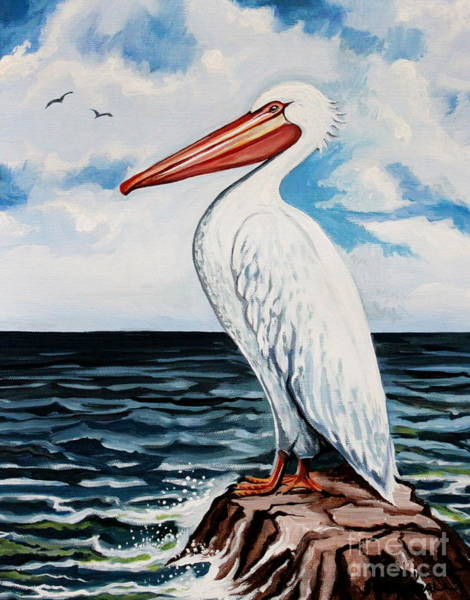 Painting - Watcher Of The Sea by Elizabeth Robinette Tyndall