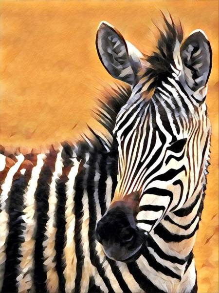Kenya Mixed Media - Watchful by Lori Allen