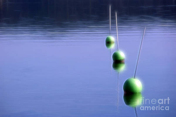 Photograph - Watching Buoys by Lutz Baar