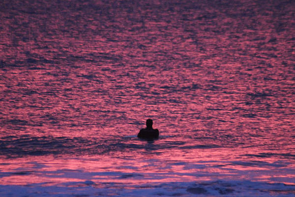 Photograph - Watching For Waves by Robert Banach