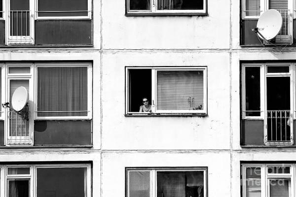 Wall Art - Photograph - Watching In East Berlin by John Rizzuto