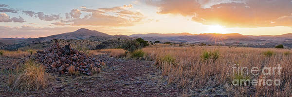 Photograph - Watching The Setting Sun From Indian Lodge Trail - Davis Mountains State Park  Fort Davis West Texas by Silvio Ligutti