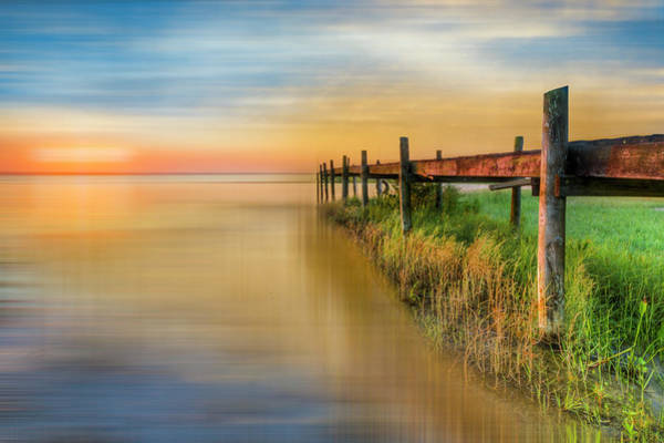 Photograph - Watching The Sun Rise Dreamscape by Debra and Dave Vanderlaan