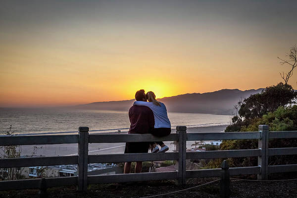 Photograph - Watching The Sunset Glow by Gene Parks